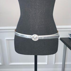 Lauren Ralph Lauren Silver Belt
